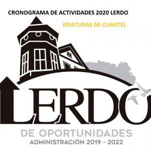 JEFATURAS DE CUARTEL 2020 NEW